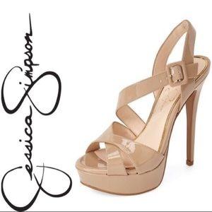 Nude pump heels Jessica Simpson 6.5